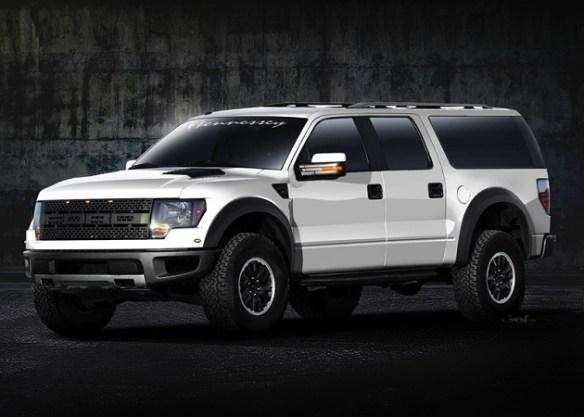 Raptor Hennessey Debuts Ford VelociRaptor Super SUV