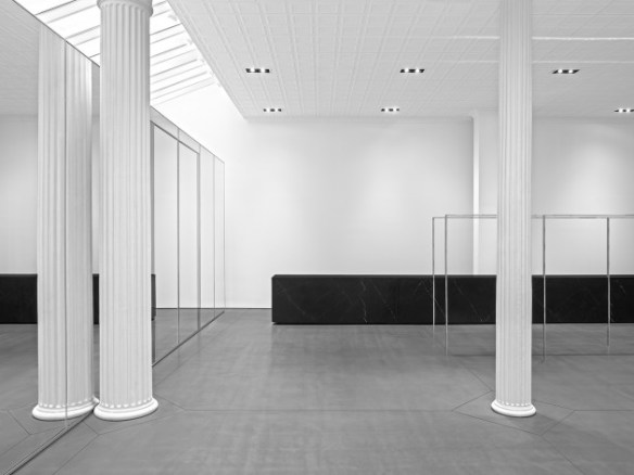 saint laurent 80 greene space 01 630x472 The Saint Laurent Paris NYC Flagship Store