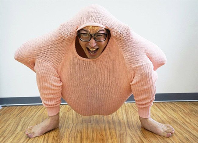 5102 How To Survive Cold Winter Using Only A Single Sweater