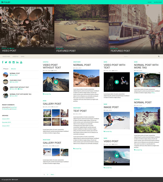 745 10 Best Free WordPress Themes for April 2014