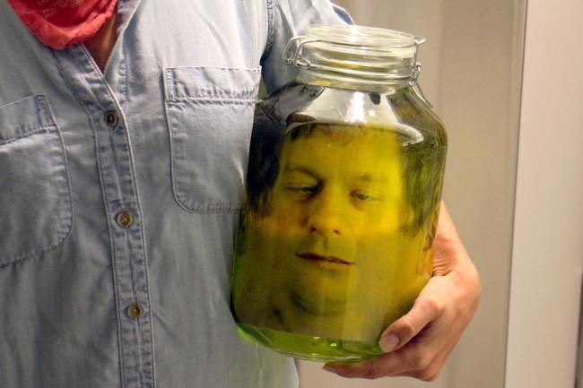Head in a Jar by mikeasaurus 04 Head in a Jar