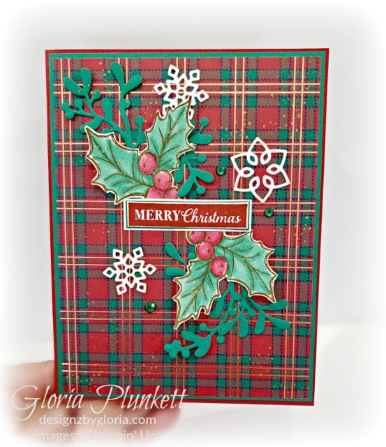Christmas layers dies, wrapped in plaid designer series paper, Christmas gleaming stamp set, layering circle dies, Paper Snips, Take Your Pick Tool, Stampin' Sponges, White Chalk Marker, Stitched Rectangle Dies, sip & celebrate dies, Grid Paper, stampin sponge, perfectly plaid Stamp set, truck ride dies, shimmery crystal effects, braided linen ribbon, to every season stamp set, every season punch, gold foil paper, shaded spruce cardstock, cherry cobbler cardstock, wrapped in plaid 6 x 6 designer series paper, thick whisper cardstock, silicone craft mat, grid paper, gold delicata reinker, polka dot tulle ribbon, come to gather designer series paper, splitcoaststampers, come painters, blender pens, clear wink of stella, stampin' trimmer, very vanilla cardstock, sponge daubers, dimensionals, paper snips, multipurpose liquid glue take your pick, SNAIL adhesive, stampin' up! Demonstrator, how to, diy handmade, homemade, rubber stamping, greeting card, crafts cardmaking to gathered ribbon combo pack, Tags & More Accessory kit, every season punch pack, bronze delicata ink pad, black stampin dimensionals, detailed trio punch, basic black cardstock, old olive classic ink, memento tuxedo black ink, black stazon ink, thick whisper white cardstock, whisper white cardstock, stamparatus, aqua painters