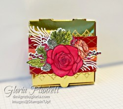 "Christmas rose stamp set, roses dies, gold glitter enamel dots, cherry cobbler cardstock, mossy meadow cardstock, Christmastime is here specialty designer series paper, tear n tape, ¾"" circle punch, simply scored, paper trimmer, Paper Snips, Take Your Pick Tool, Stampin' Sponges, White Chalk Marker, Stitched Rectangle Dies, sip & celebrate dies, Grid Paper, stampin sponge, perfectly plaid Stamp set, truck ride dies, shimmery crystal effects, braided linen ribbon, to every season stamp set, every season punch, gold foil paper, shaded spruce cardstock, cherry cobbler cardstock, wrapped in plaid 6 x 6 designer series paper, thick whisper cardstock, silicone craft mat, grid paper, gold delicata reinker, polka dot tulle ribbon, come to gather designer series paper, splitcoaststampers, come painters, blender pens, clear wink of stella, stampin' trimmer, very vanilla cardstock, sponge daubers, dimensionals, paper snips, multipurpose liquid glue take your pick, SNAIL adhesive, stampin' up! Demonstrator, how to, diy handmade, homemade, rubber stamping, greeting card, crafts cardmaking to gathered ribbon combo pack, Tags & More Accessory kit, every season punch pack, bronze delicata ink pad, black stampin dimensionals, detailed trio punch, basic black cardstock, old olive classic ink, memento tuxedo black ink, black stazon ink, thick whisper white cardstock, whisper white cardstock, stamparatus, aqua painters"