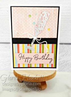 "Sip sip hooray stamp set, sip & celebrate dies, Painted poppies stamp set, gold glitter enamel dots, cherry cobbler cardstock, mossy meadow cardstock, night before christmas designer series paper, tear n tape, 1"" circle punch, simply scored, paper trimmer, Paper Snips, Take Your Pick Tool, Stampin' Sponges, White Chalk Marker, Stitched Rectangle Dies, sip & celebrate dies, Grid Paper, stampin sponge, perfectly plaid Stamp set, truck ride dies, shimmery crystal effects, braided linen ribbon, to every season stamp set, every season punch, gold foil paper, shaded spruce cardstock, cherry cobbler cardstock, wrapped in plaid 6 x 6 designer series paper, thick whisper acardstock, silicone craft mat, grid paper, gold delicata reinker, polka dot tulle ribbon, come to gather designer series paper, splitcoaststampers, come painters, blender pens, clear wink of stella, stampin' trimmer, very vanilla cardstock, sponge daubers, dimensionals, paper snips, multipurpose liquid glue take your pick, SNAIL adhesive, stampin' up! Demonstrator, how to, diy handmade, homemade, rubber stamping, greeting card, crafts cardmaking to gathered ribbon combo pack, Tags & More Accessory kit, every season punch pack, bronze delicata ink pad, black stampin dimensionals, detailed trio punch, basic black cardstock, old olive classic ink, memento tuxedo black ink, black stazon ink, thick whisper white cardstock, whisper white cardstock, stamparatus, aqua painters"