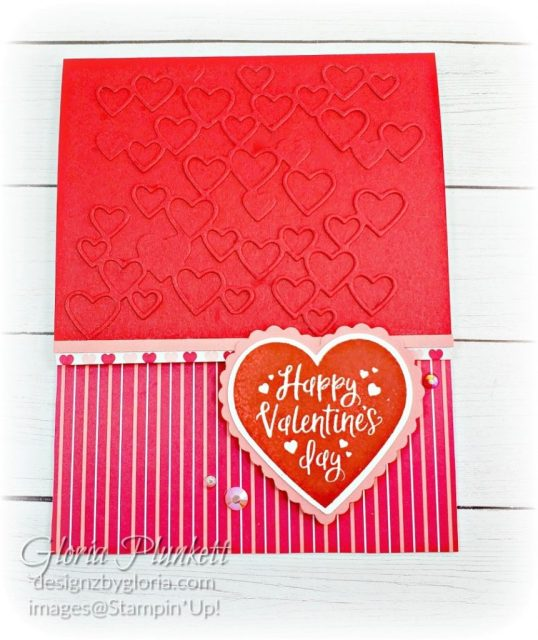 """Heartfelt stamp set, detailed hearts dies, heartfelt bundle, heart punch pack, real red cardstock, from my heart specialty designer series paper, crushed curry cardstock, lovely lipstick reinker refill, grapefruit grove reinker refill, aqua painter, silicone craft mat, white embossing powder, versamark ink pad, heat tool, watercolor paper, crumb cake cardstock, tear n tape, 1"""" circle punch, simply scored, paper trimmer, Paper Snips, Take Your Pick Tool, Stampin' Sponges, White Chalk Marker, Stitched Rectangle Dies, sip & celebrate dies, Grid Paper, stampin sponge, perfectly plaid Stamp set, truck ride dies, shimmery crystal effects, braided linen ribbon, to every season stamp set, every season punch, gold foil paper, shaded spruce cardstock, cherry cobbler cardstock, wrapped in plaid 6 x 6 designer series paper, thick whisper acardstock, silicone craft mat, grid paper, gold delicata reinker, polka dot tulle ribbon, come to gather designer series paper, splitcoaststampers, come painters, blender pens, clear wink of stella, stampin' trimmer, very vanilla cardstock, sponge daubers,  dimensionals, paper snips, multipurpose liquid glue take your pick, SNAIL adhesive, stampin' up! Demonstrator, how to, diy handmade, homemade, rubber stamping, greeting card, crafts cardmaking  to gathered ribbon combo pack, Tags & More Accessory kit, every season punch pack, bronze delicata ink pad, black stampin dimensionals, detailed trio punch, basic black cardstock, old olive classic ink,  memento tuxedo black ink, black stazon ink, thick whisper white cardstock, whisper white cardstock,  stamparatus, aqua painters"""