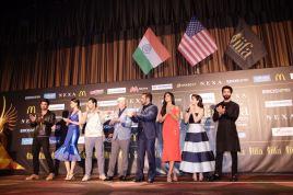 Sushant Singh Rajput, Kriti Sanon, Varun Dhawan, Anupam Kher, Salman Khan, Katrina Kaif, Alia Bhatt, Shahid Kapoor at the IIFA