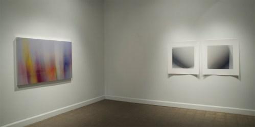 Extraits de la série «Dissolutions et chevauchements», troisième salle de l'exposition «Isoler - rassembler - dissoudre », Langage plus, Alma, 2014