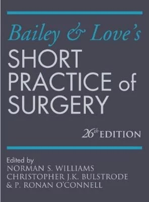 Bailey & Love's Short Practice of Surgery 26E Cover