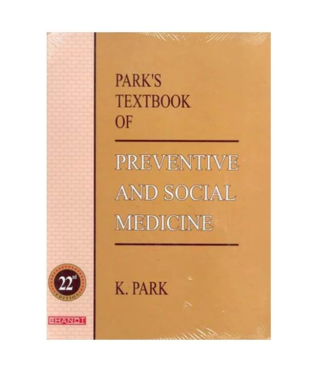Park's Textbook of Prentive and Social Medicine 22e Cover