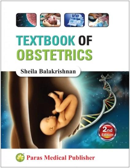 Sheila Balakrishnan - Textbook of Obstetrics Paras Medical Publishers