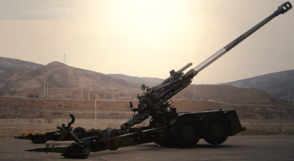 Optimized-155mm Howitzer field guns