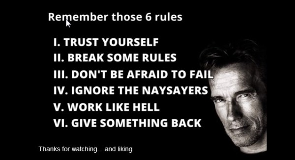 Arnold-6-rules