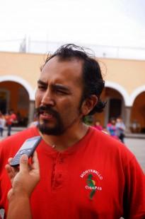 JUAN CARLOS FLORES- DIRIGENTE DEL FRENTE DE PUEBLOS ZONA PUEBLA