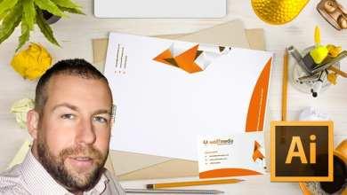 Business Card and Letterhead Design in Adobe Illustrator