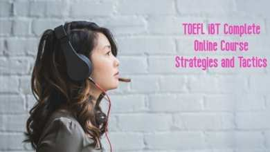 TOEFL iBT Complete Online Preparation Course!