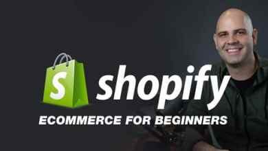 Shopify E-Commerce Websites for Beginners & Freelancers