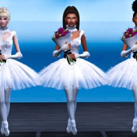 Sims 4: Ballet Dancer Machinima + Lookbook