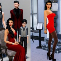 Sims 4: Bella Goth & Family Makeover