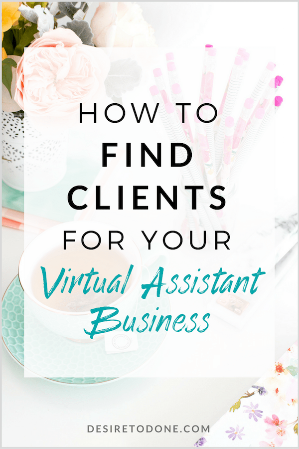 Wondering how to find clients for your new or established virtual assistant business? Click through to read some of my fave ideas for finding them!