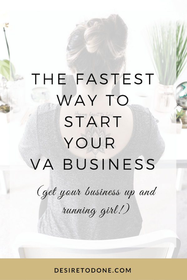 Get your Virtual Assistant business off the ground quickly with these important tips!
