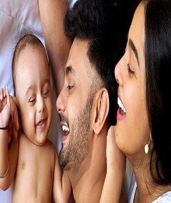 Amrita Rao Husband Rj Anmol Shared The First Picture Of Their Son , Veer_Pic Credit Google
