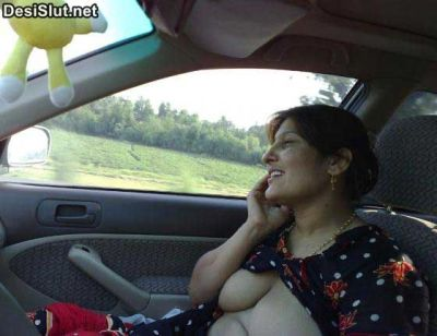 Indian Aunty Car Mai Nangi Hui