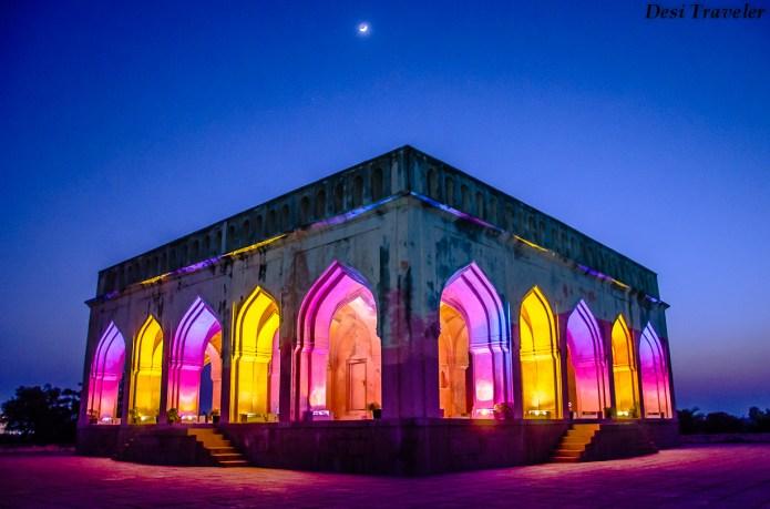 places to see in Hyderabad Taramati Baradari