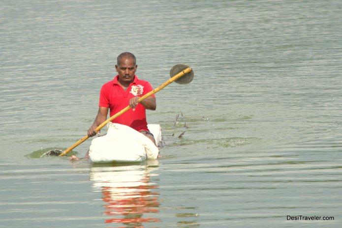 Fishing in Peerancheru Lake PBEL City