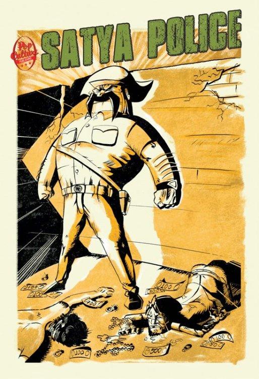 comic con Satya police