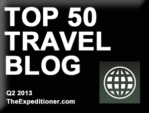 Top 50 Travel Blogs