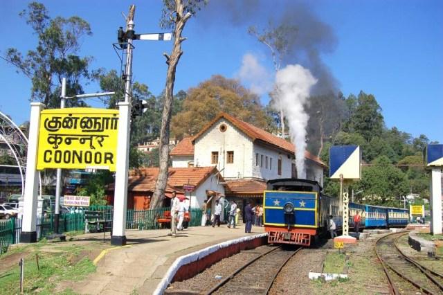 toy Train Coonoor Railway Station