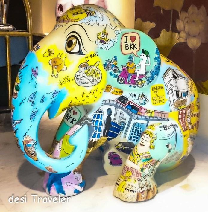 Bangkok Theme Elephant Parade