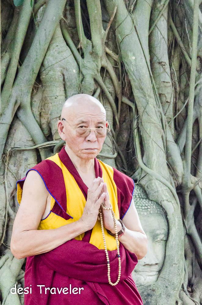 Buddha Head Tree Root Thailand