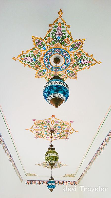 Rajasthan Haveli Ceiling Fresco