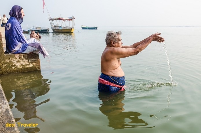 Yoga surya namaskar Varanasi
