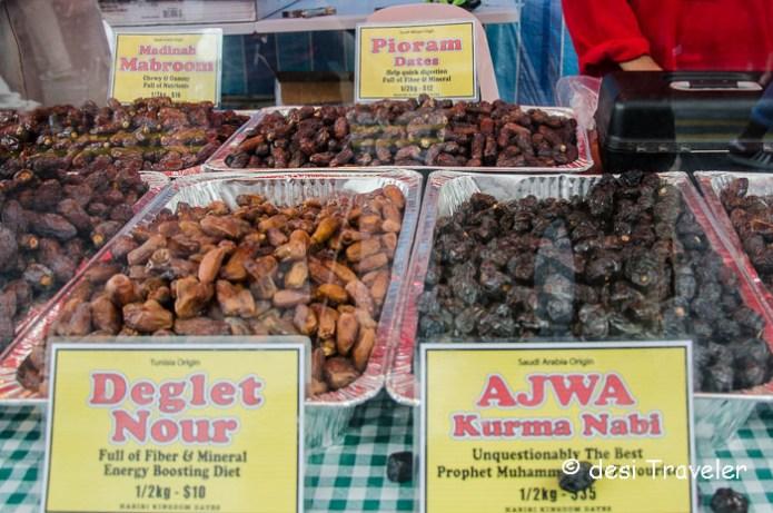 Dates in Singapore Ramadan Food