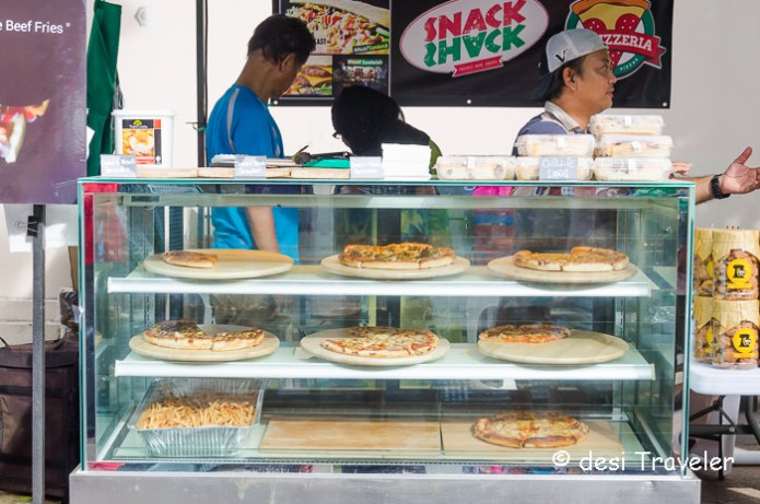 Pizza counter Ramadan Food Festival Singapore
