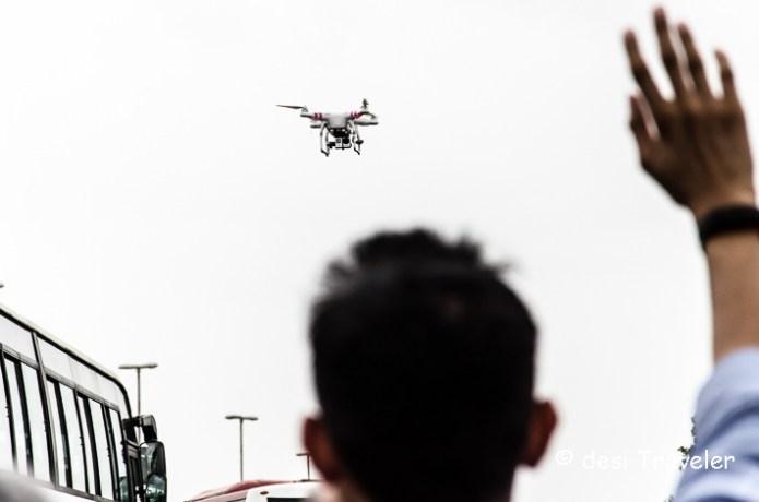 drone pictures tata nano plant
