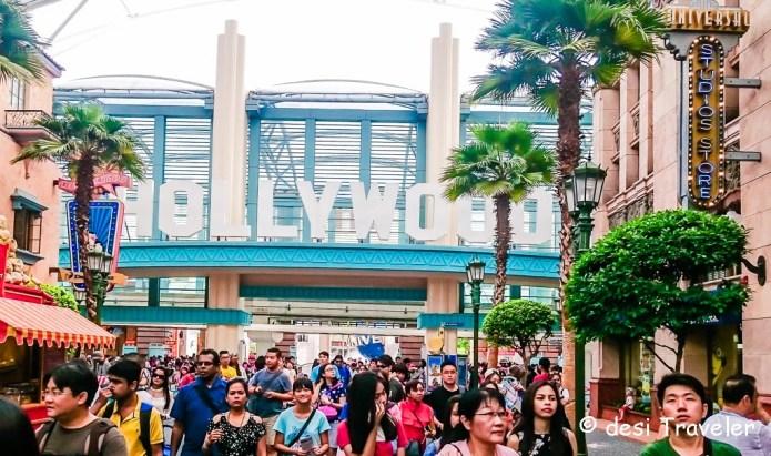 Universal Studios Singapore Shopping