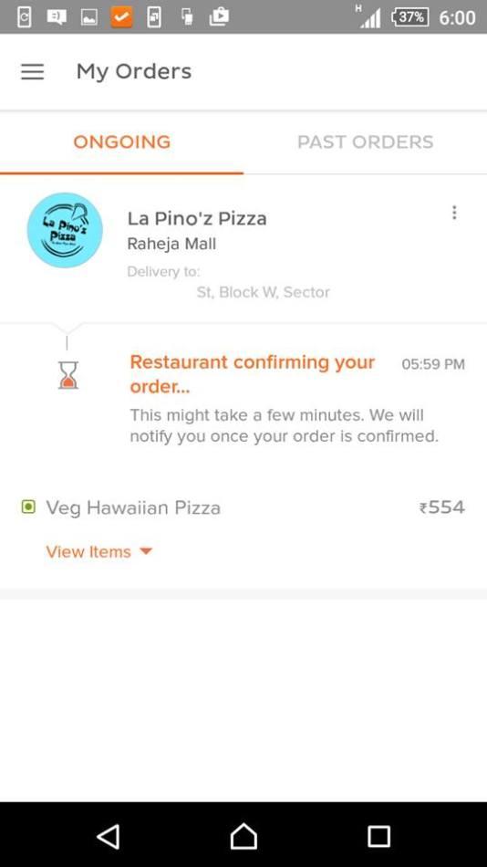 TinyOwl food ordering app (2)