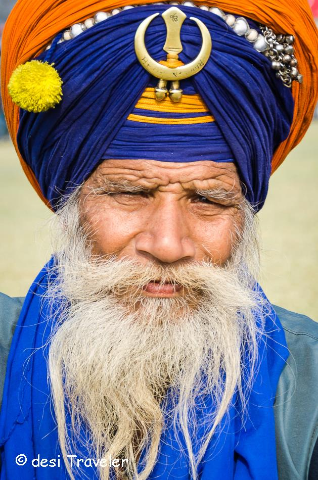 Portrait of a Nihang Sadhu