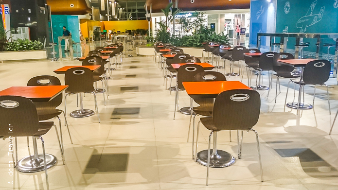 Bangalore Airport restaurants