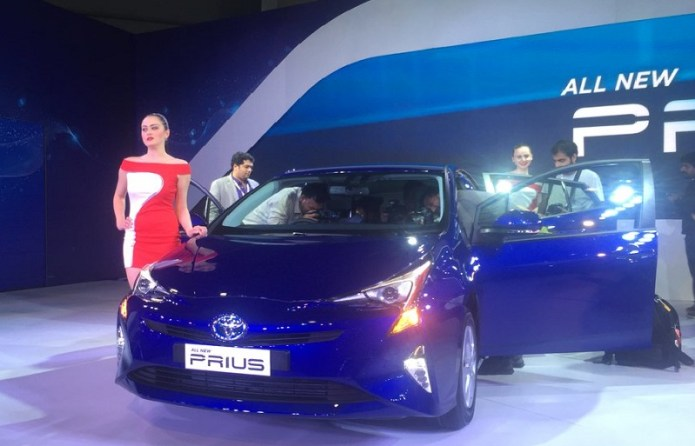 All New Prius Hybrid India price