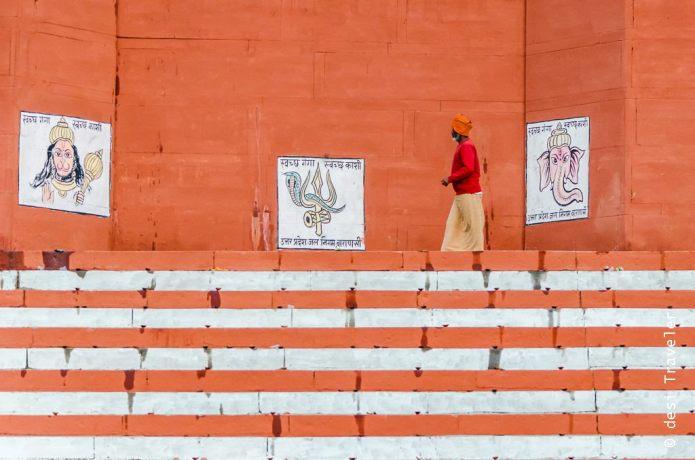 sadhu ghats streets art varanasi