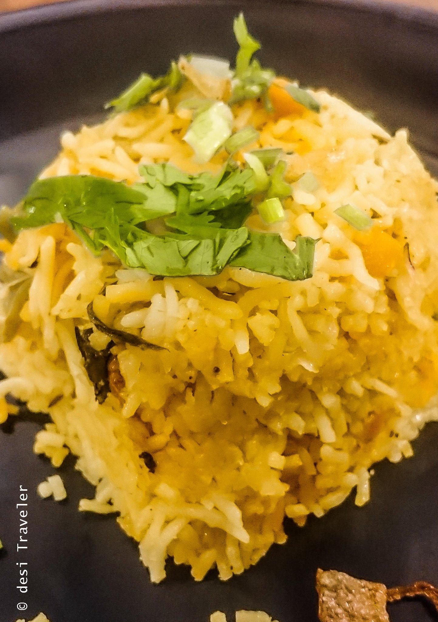 Vegetarian Food Changi Airport