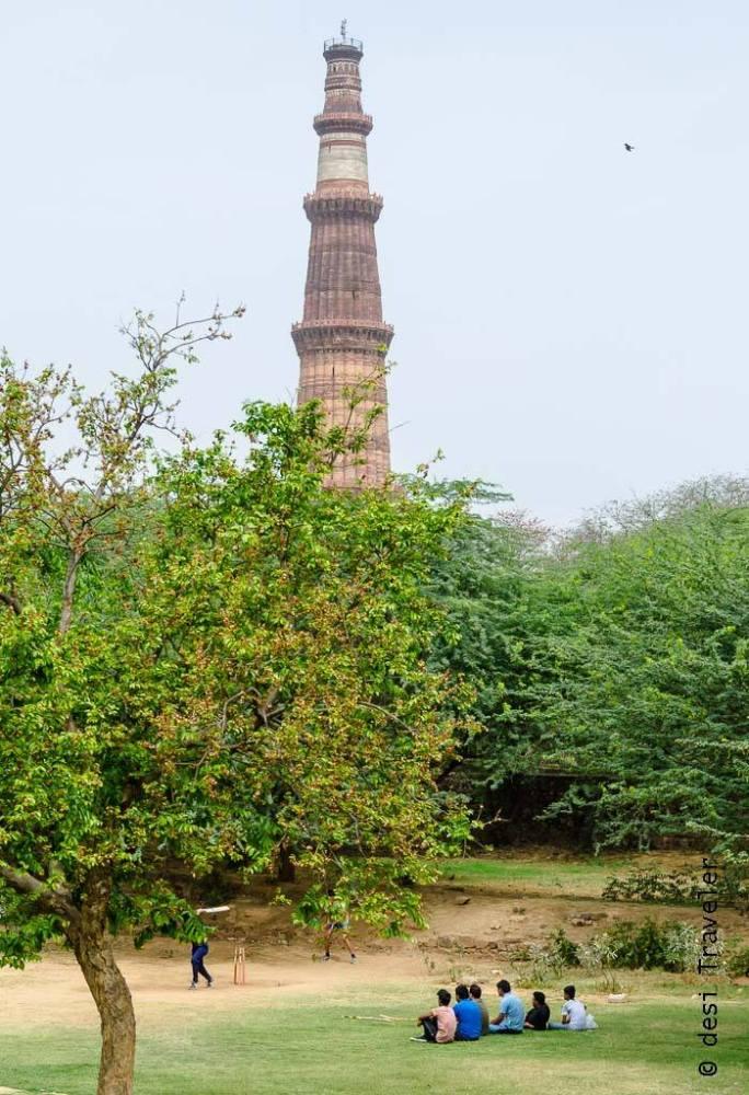 Qutub Minar Mehrauli Archaeological Park