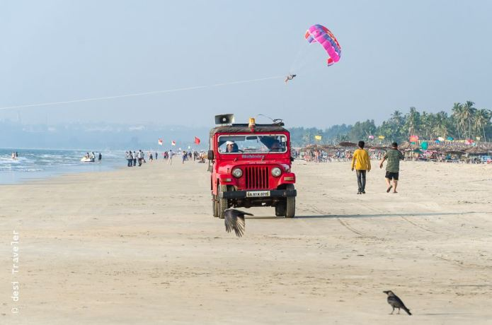 What to do on a Goa Beach - Parasailing