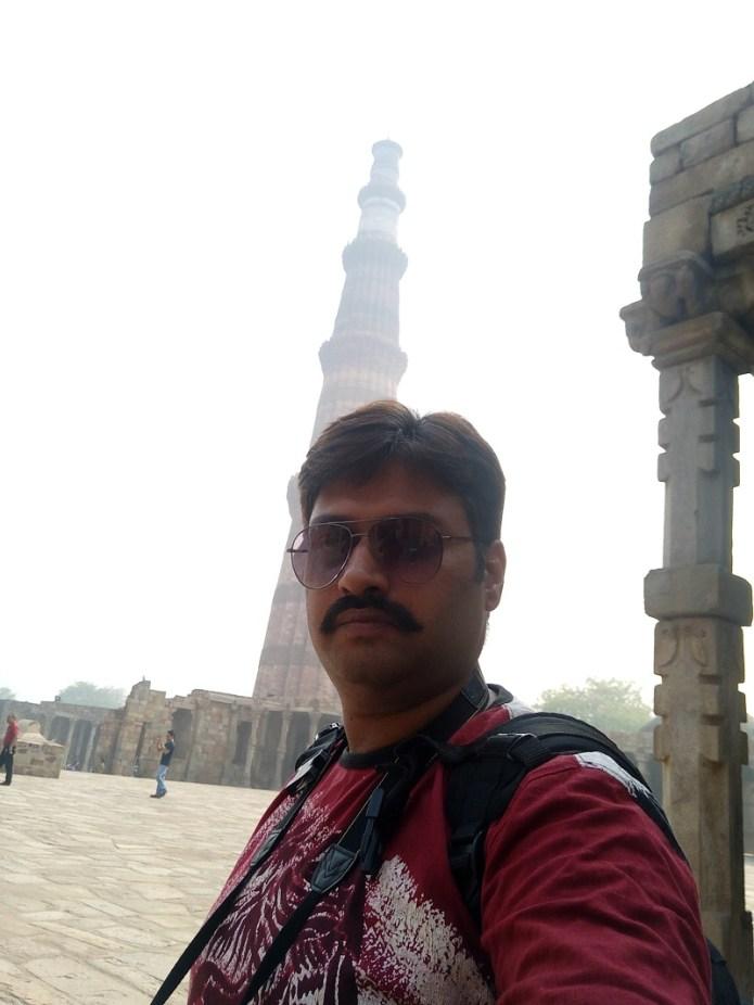oppo f1 plus selfie expert qutub minar