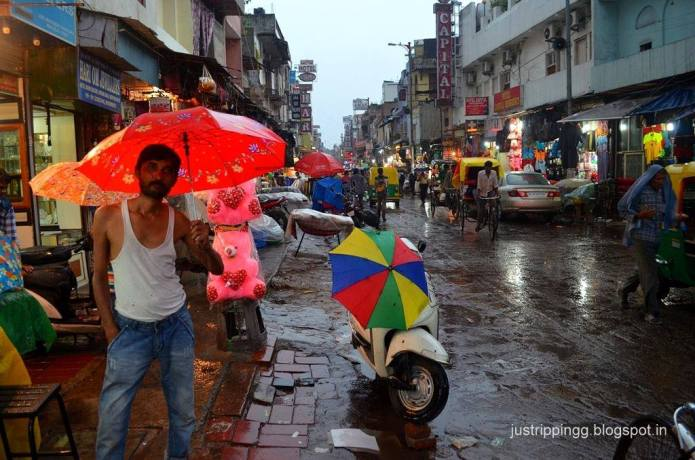 Chasing Monsoon - Paharganj Delhi