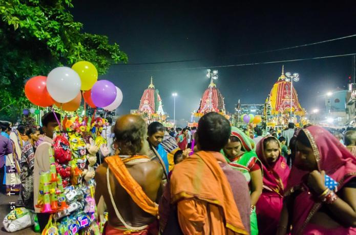 Rath Yatra Puri ISCON devotees
